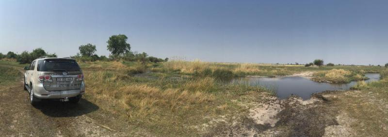 Toyota Fortuner River crossing,Nkasa Rupara National Park