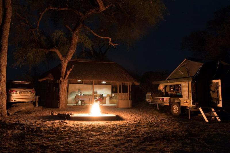 Livingstons Camp, just outsideNkasa Rupara National Park, Namibia
