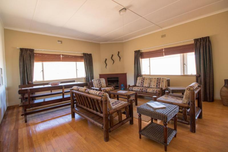 Embizweni Cottage Lounge, Karoo National Park