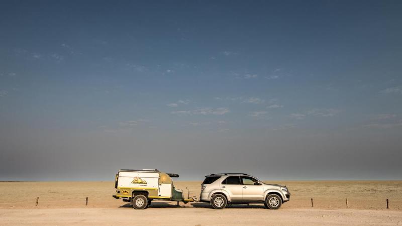 Fortuner and Bushwakka Sundowner - Etosha National Park, Namibia